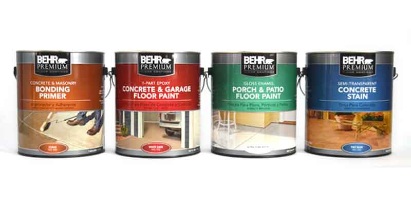 Behr Garage Floor Coating Products