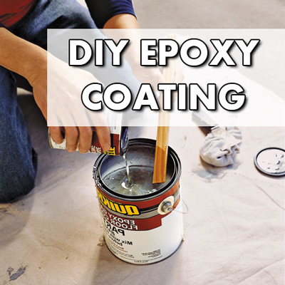 Diy garage floor coating understanding epoxy coatings diy epoxy floor coating kit solutioingenieria Image collections