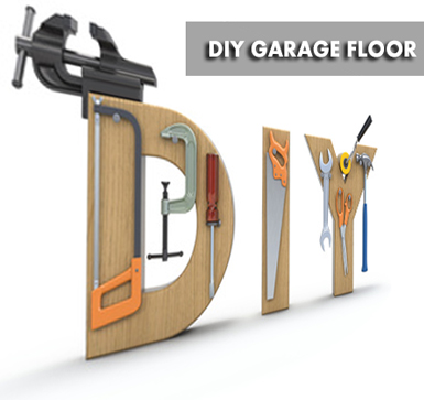 DIY Garage Floor Coating Project