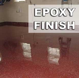 Glossy Epoxy Finish