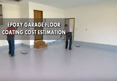 calculating epoxy garage floor coating cost