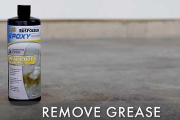Remove Grease From Garage Floor