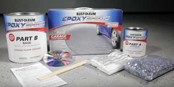 Rustoleum Epoxy Garage Floor Kit