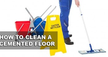 How To Clean A Cement Garage Floor