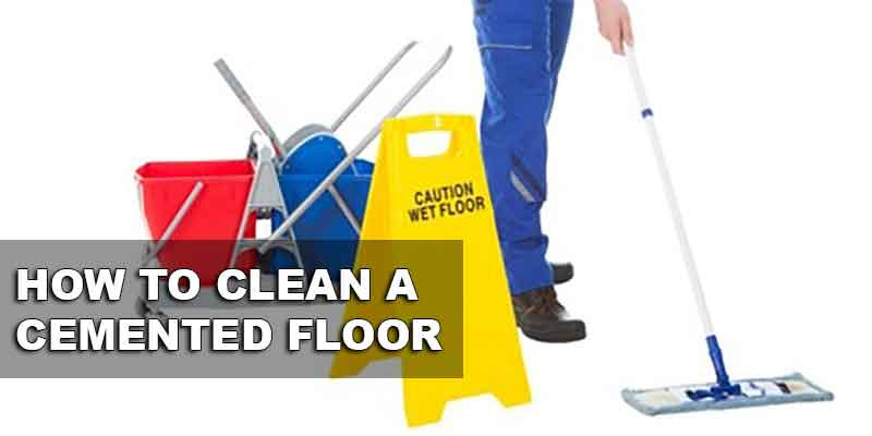 Tips On Cleaning Your Cemented Garage Floor