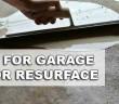 How To Resurface Your Garage Floor
