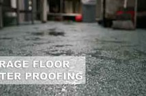 Water Proof A Garage Floor