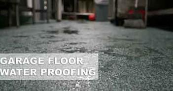Water Proof A Garage Floor
