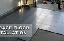 Garage Floor Installation