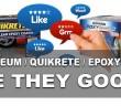 Bad Reviews EpoxyShield Rustoleum Quikrete