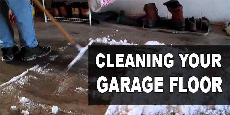 How To Clean Your Garage Floor