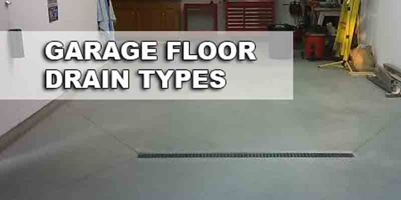 Garage Floor Drain Ideas
