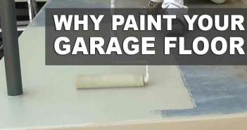 Painting Your Garage Floor