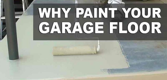 how to clean latex paint off garage floor