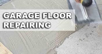 How To Repair A Garage Floor