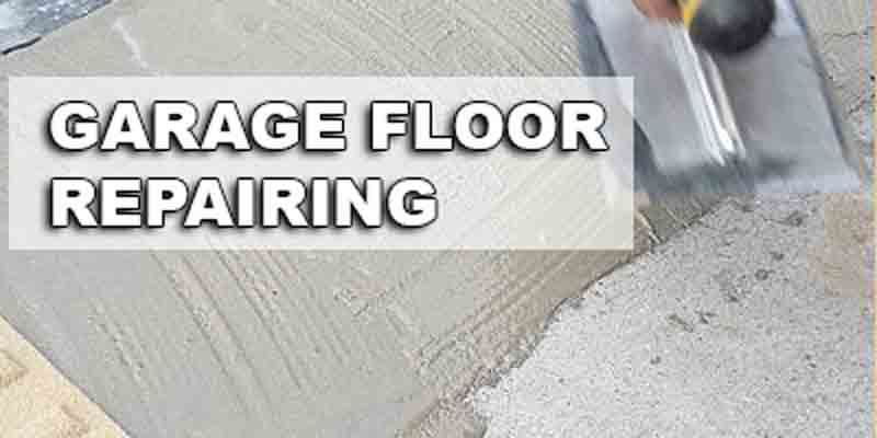 How To Repair A Garage Floor