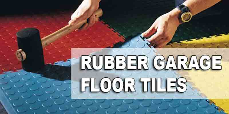 Rubber Garage Floor Tiles