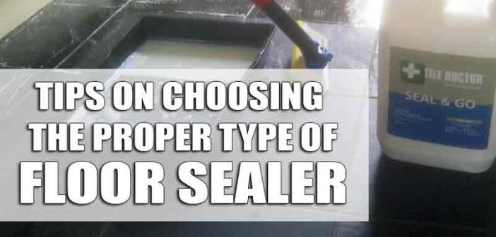 Selecting Proper Floor Sealer