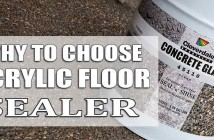Why To Use Acrylic Garage Floor Sealer