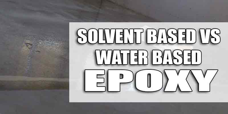 Solvent and Epoxy Garage Floor Coatings