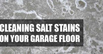 How To Clean Salt Stains From Floor