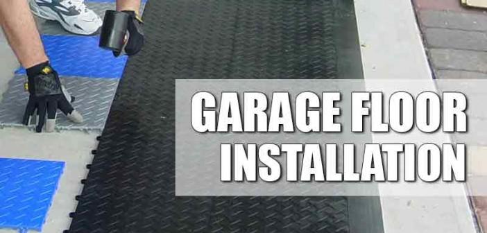 Types Of Garage Floor Installations