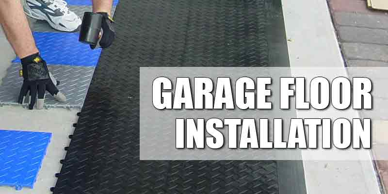 Types Of Garage Floor Installations