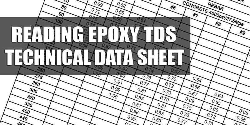 Reading Technical Data Sheet