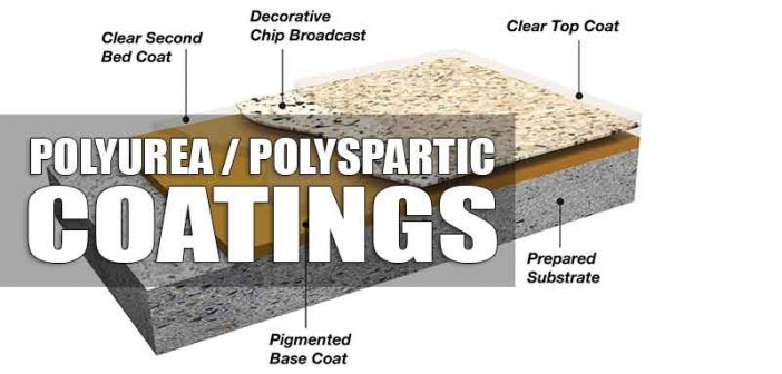 Polyurea Polyspartic Concrete Coatings