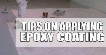 Epoxy Application Tips