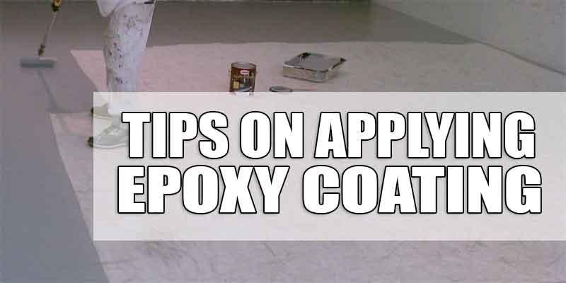 Epoxy Application Tips