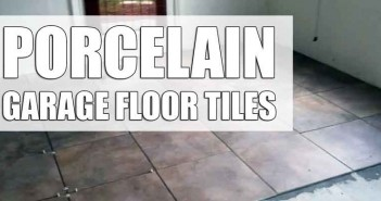 Porcelain Tiles Garage Floor