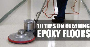 Cleaning Floor Coatings