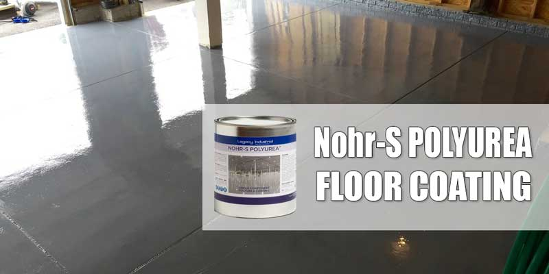why nohrs is the best diy polyurea garage floor coating