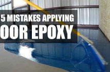 Floor Epoxy Installation