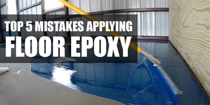 Floor Epoxy Installation