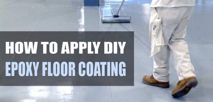 Diy Epoxy Floor Coating : How to apply garage floor epoxy coatings the diy guide