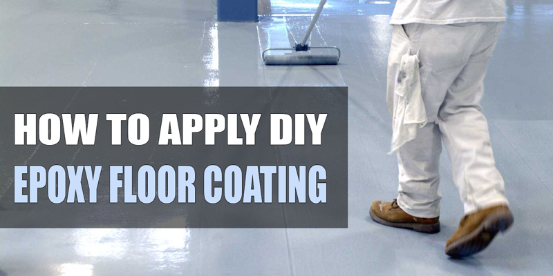 How To Apply Epoxy Floor Coating DIY